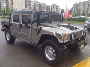 2001 Hummer H1 for sale soft top convertible low KM great shape