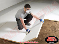 LOOK Under Concrete Board Insulation GREAT Deal $0.75/ft2