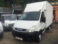 2011 61 Iveco Daily S Class 2.3TD 35S13 MWB LUTON / TAIL-LIFT