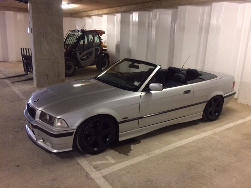 E36 Bmw 318i Convertible Lowered Stanced Modified In