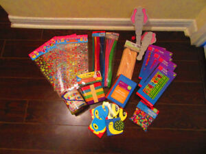 Arts and Crafts Fun Pack (includes stickers, pipe cleaners, etc)