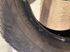 Winter Tires for Sale. 185/75/R14.