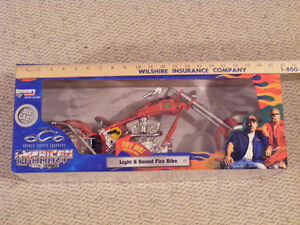 OCC DIECAST FIRE BIKE