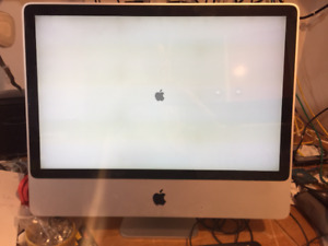 iMac 24 inch FOR PARTS, display good, early 2008