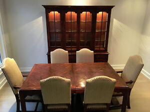 Ridpath's - Dining set - table, 8 chairs with buffet and hutch