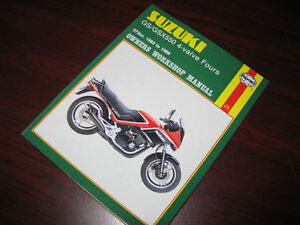 Manuel d'atelier Suzuki GS550 GSX550 1983 - 1988 Shop manual