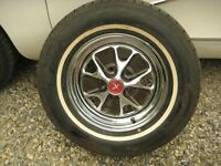 1965-1966 Mustang Rally Wheels