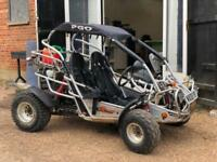2008 [08] PGO QUADZILLA BUG RIDER 250CC BUGGY AUTO 2.5K MILES NEW MOT ROAD LEGAL