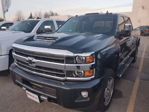 2018 Silverado 2500 High Country Duramax Diesel ***NEW***