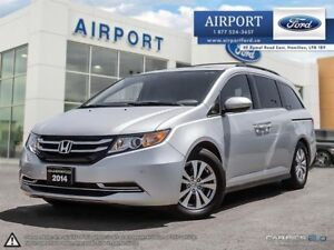 2014 Honda Odyssey EX-L FWD with only 86,871 kms