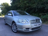 Toyota avensis VVTI t spirit automatic leather