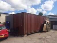 EXPORT 20FT LONG CONTAINER READY TO USE SHIP ABROAD