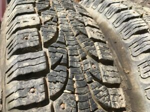 165/80R13 Pirelli studded winter tires