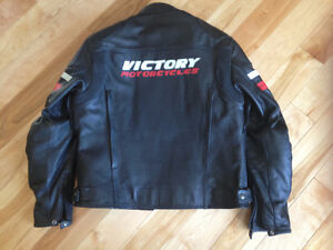 Leather Motorcycle Jackets -Victory