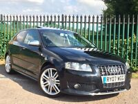 AUDI S3 2.0 TFSI 2007 - FSH, SUNROOF, FRONT & REAR HEATED SEATS (not BMW 535d r gti fr a3)