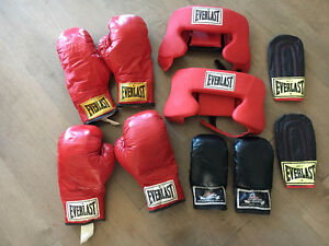 Boxing Gloves & Equipment
