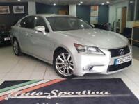 2014 Lexus GS 2.5 Luxury E-CVT 4dr PETROL/ELECTRIC silver CVT
