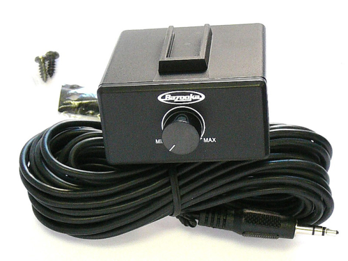 Bazooka Rbcm-100 Remote Bass Control Knob 100 Watts Ampli...