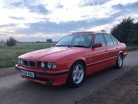 BMW e34 530i V8 manual with extras!