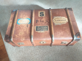 Vintage Steamer Trunk. Delivery available.