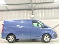 FORD TRANSIT CUSTOM LIMITED 155BHP 2.2TDCi 155 PS 290 L1H1 SWB BLUE TOP SPEC
