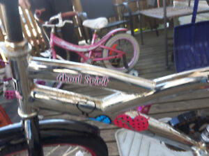 20 inch girls bike, with free smaller one