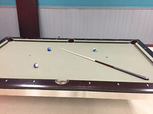 Beautiful Executive Billiards/ Pool table and conferenc table