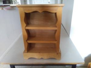 Small wall shelf storage