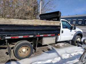 2006 Ford F-550 XL SUPER DUTY DUMP TRUCK