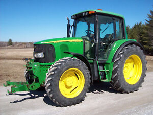 John Deere 6420 with Front PTO & 3PH