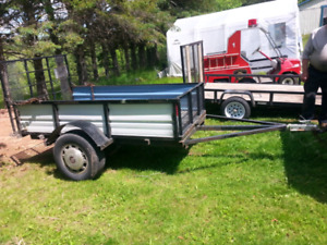 4 by 8 utility trailer for sale