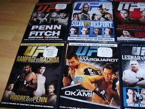 """15 UFC dvds ***BRAND NEW*** trade for 17"""" Rims and Tires London Ontario image 6"""