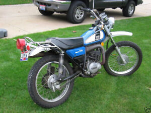 Looking for a Yamaha 175 Enduro - Bike or Parts