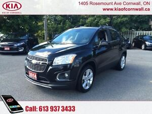 2014 Chevrolet Trax LTZ   | Sunroof | Leather | AWD |