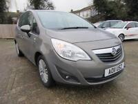 2011 Vauxhall Meriva 1.4 i 16v Excite 5dr (a/c)