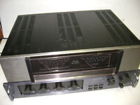 vintage Carver C-1 pre-amp and M 500 power amp