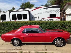 1968 Ford Mustang original car