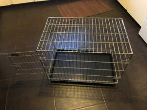 dog crate 30long 19wide 22.5high