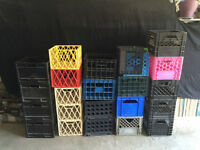 CRATES FOR VINYL RECORDS