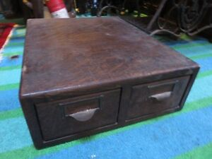 ANTIQUE OAK FILEING CASE IN GREAT CONDITON, asking $65 or best o