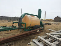 Complete Spray Air 80' sprayer for parts.