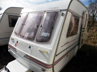 Compass Lynx 340/2 1995/96 Lightweight 2 Berth Touring Caravan With MotorMover