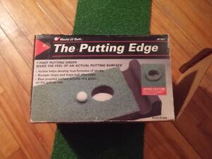 Tapis exercice putting golf 7 pieds incliné