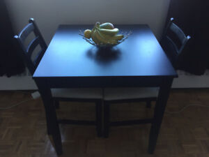 Ikea Dining Table with 2 Chairs