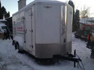 14' x 7' Enclosed Trailer ( Cargo Express)
