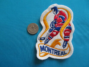 VINTAGE VIEUX ECUSSON PATCH MONTREAL CANADIENS NHL HABS 1970-71