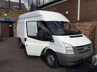 FORD TRANSIT T350 LWB HIGH TOP YEAR 2008 READY TO WORK