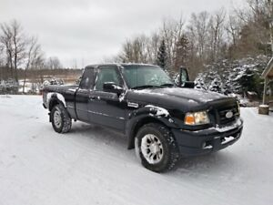 2007 Ford Ranger sport 4x4 super cab (PRICE REDUCED)