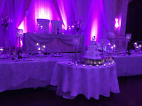 FREE BRIDAL CHAIRS - With FULL WEDDING SET-UP - FLAT FEE