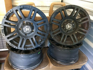 Black Iron Rims